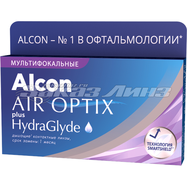 AIROPTIX plus HydraGlyde MULTIFOCAL